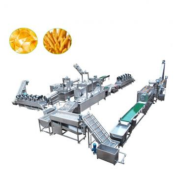 100/200/300/500/1000kg Per Hour Frozen French Fries Processing Machine Potato Chips Production Line