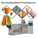 Jinan Sunward 100-150kg/H Edible Rice Making Drinking Straw Machine