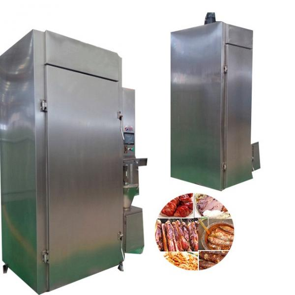 500kg/H Capacity Hot Meat Sausage Fish Smoking Equipment #1 image