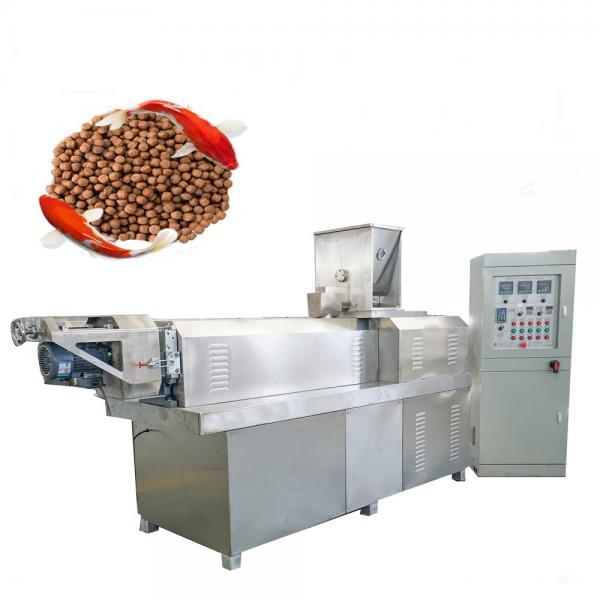 5t/H Automatic Cow Chicken Cattle Poultry Animal Feed Processing Plant Animal Feed Production Line Unit, Feed Pellet Processing Machine Floating Fish Feed Mill #1 image